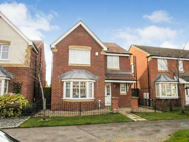 4 Bedrooms Detached House for sale in Rothbury Drive, Ashington, Northumberland