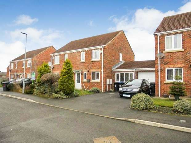 3 Bedrooms Semi Detached House for sale in Ivyway, Pelton, Chester le Street, Durham