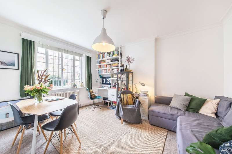 1 Bedroom Flat for sale in Watchfield Court, Sutton Court Road, Chiswick, London, W4
