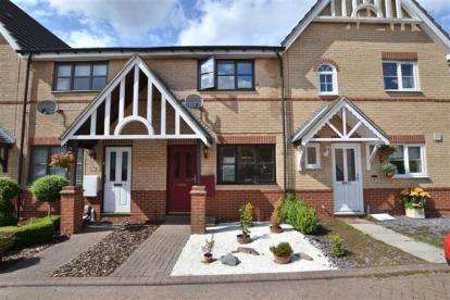 2 Bedrooms Terraced House for sale in Neagh Close, Stevenage, Hertfordshire, England