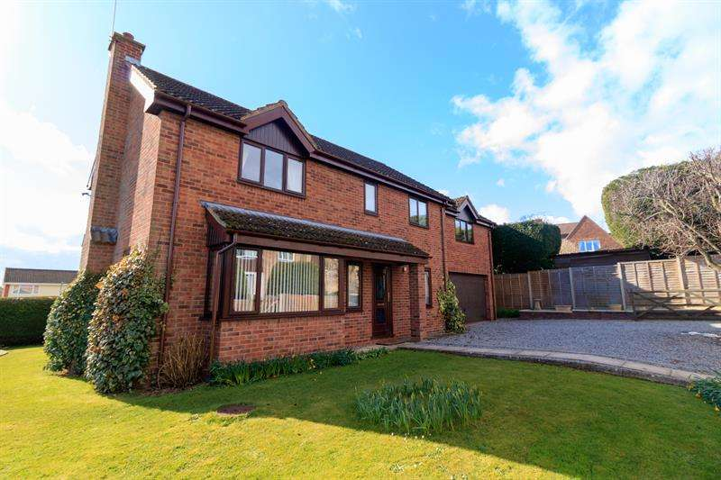5 Bedrooms Detached House for sale in Rudhall Close, Ross-On-Wye