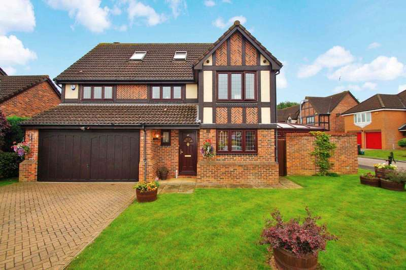 5 Bedrooms Detached House for sale in The Copse, Fields End, Hemel Hempstead