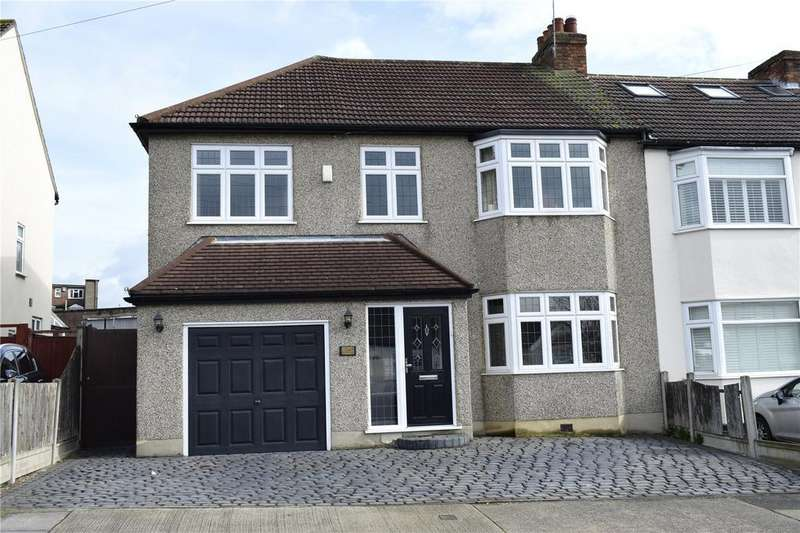 5 Bedrooms Semi Detached House for sale in Woodfield Way, Hornchurch, RM12
