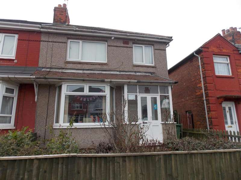 3 Bedrooms Semi Detached House for sale in Second Avenue, Grimsby, DN33 1NX
