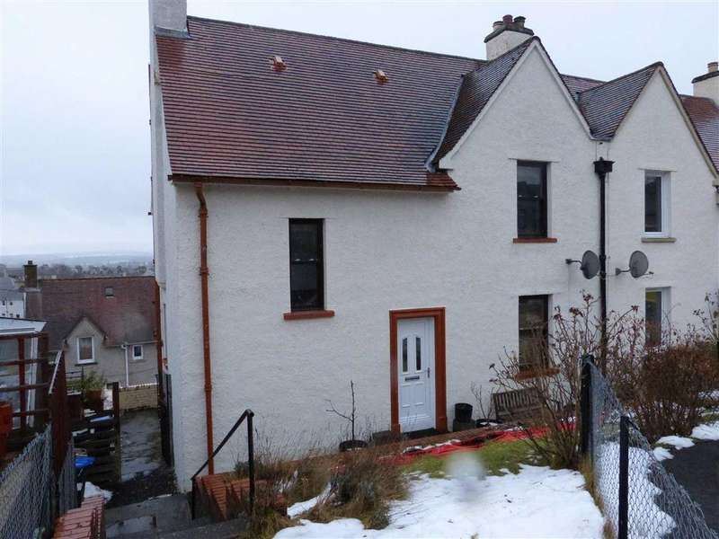 3 Bedrooms Semi Detached House for sale in Woodside Crescent, Craigie, Perthshire
