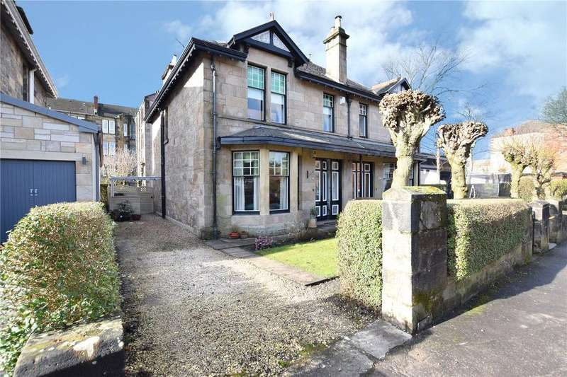 4 Bedrooms Semi Detached House for sale in Randolph Road, Broomhill, Glasgow