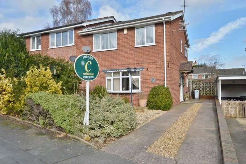 3 Bedrooms Semi Detached House for sale in Lanehead Walk, Etchinghill