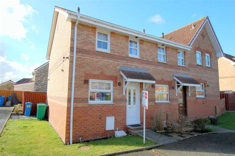 2 Bedrooms End Of Terrace House for sale in Parklands Crescent, Dalgety Bay