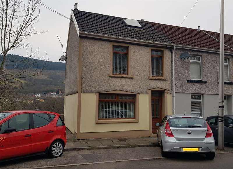 3 Bedrooms End Of Terrace House for sale in Station Terrace, Merthyr Vale, Merthyr Tydfil
