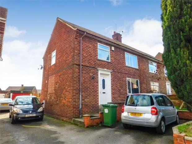 3 Bedrooms Semi Detached House for sale in Rutland Crescent, Harworth, Doncaster, South Yorkshire