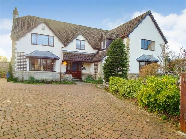 4 Bedrooms Detached House for sale in Redmans Hill, Blackford, Wedmore, Somerset