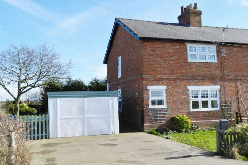 3 Bedrooms Semi Detached House for sale in Rossa Cottage Rossa Lane, Trusthorpe, Mablethorpe, LN12