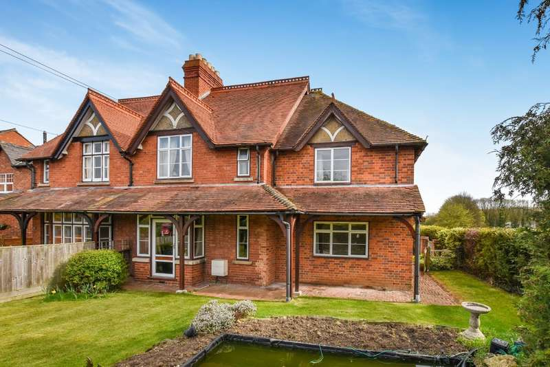 4 Bedrooms Semi Detached House for sale in Sandford-On-Thames, Oxford