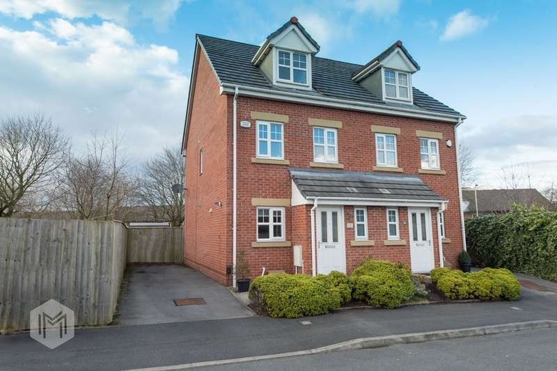 3 Bedrooms Semi Detached House for sale in Fearney Side, Little Lever, Bolton, BL3