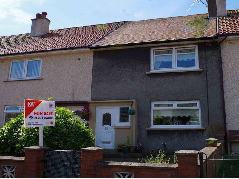 2 Bedrooms Terraced House for rent in 25 Stobbs Crescent, Kilwinning, KA13 6JE