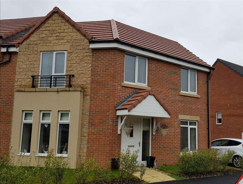 3 Bedrooms Detached House for sale in Appleby Road, New Houghton, Mansfield