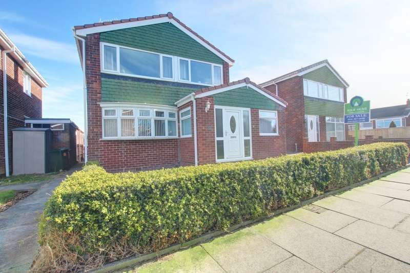 3 Bedrooms Detached House for sale in Sundridge Drive, Gateshead, NE10