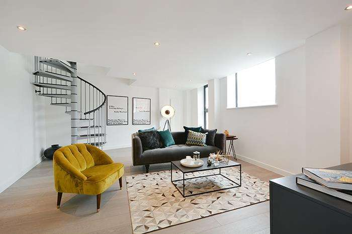 2 Bedrooms Apartment Flat for sale in The Penthouse, Moreno House, E2