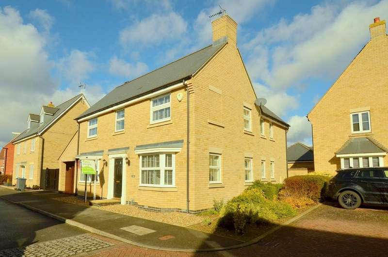 4 Bedrooms Detached House for sale in Bull Drive, Kesgrave, IP5 2BS