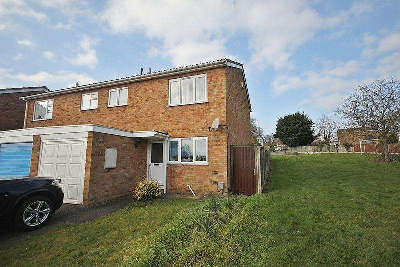 3 Bedrooms Semi Detached House for rent in Falcon Crescent, Flitwick