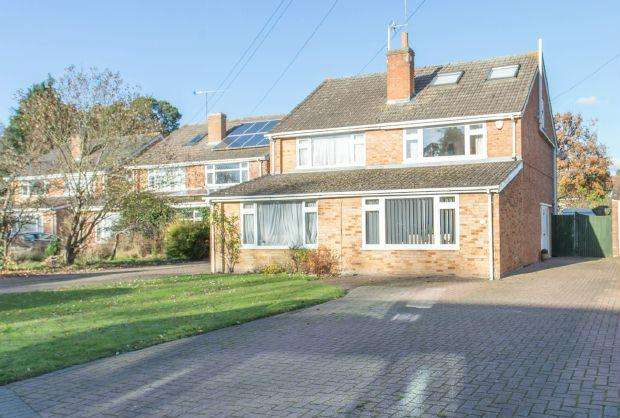 4 Bedrooms Semi Detached House for sale in THREE STORIES OF SPACE. ASCOT, BERKSHIRE, SL5 8HZ