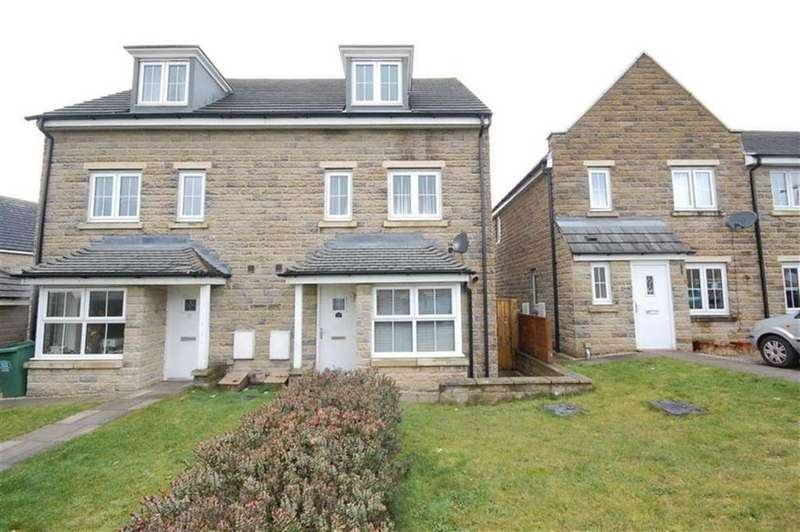 4 Bedrooms Semi Detached House for sale in Highfield Chase, Staincliffe, Dewsbury, WF13