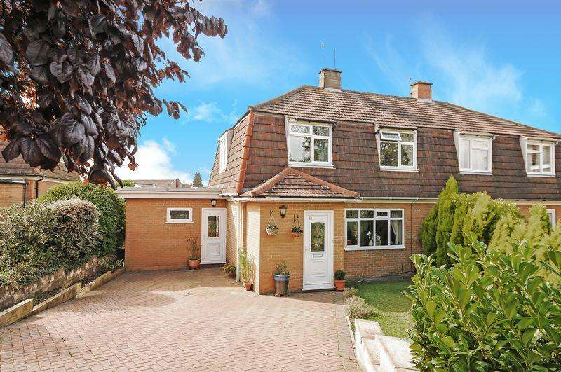 3 Bedrooms Semi Detached House for sale in Reedley Road, Westbury on Trym