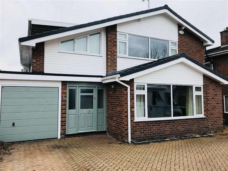 4 Bedrooms Link Detached House for sale in Merton Drive, Westminster Park, Chester, Chester