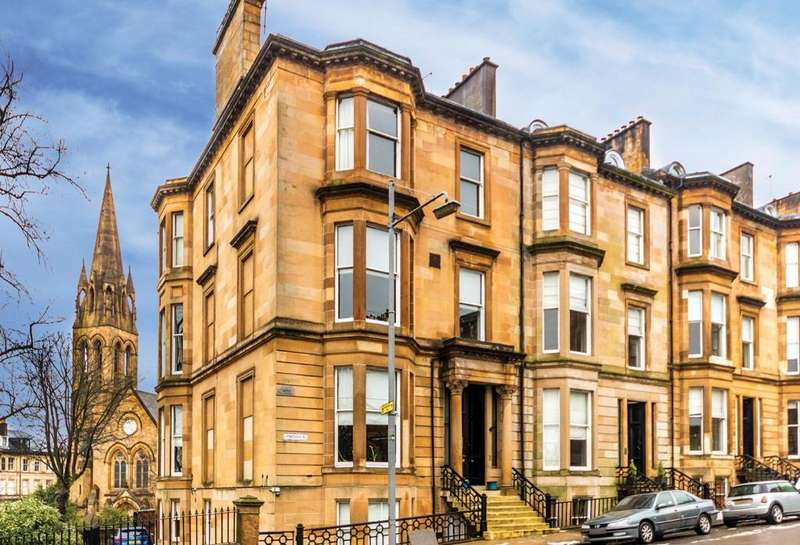 2 Bedrooms Flat for sale in Flat 2, 12 Lynedoch Place, Park, G3 6AB