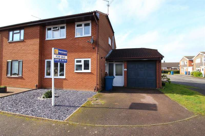 2 Bedrooms Semi Detached House for sale in Stainmore Grove, Bingham, Nottingham
