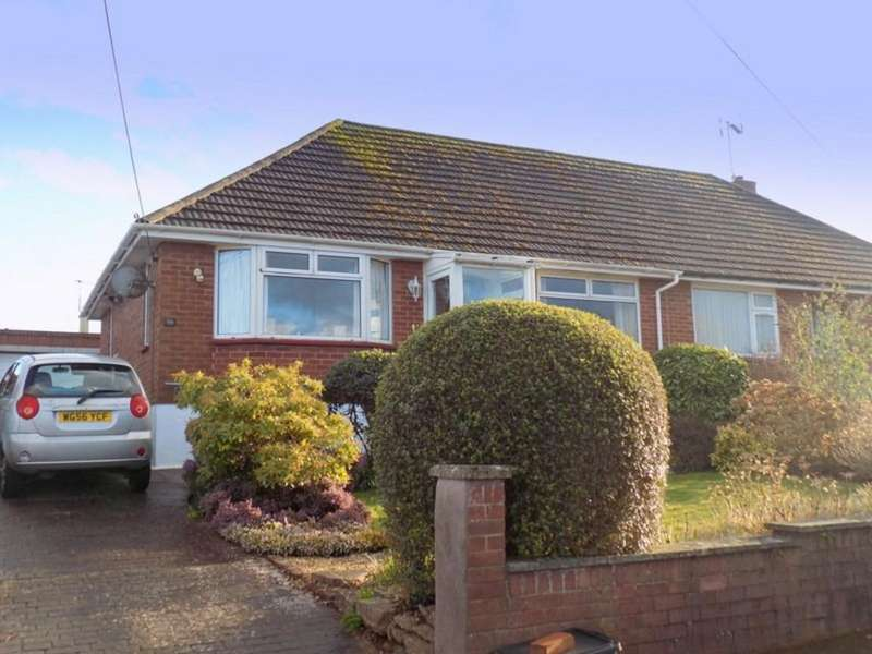 2 Bedrooms Semi Detached Bungalow for sale in Elmfield Crescent, Exmouth
