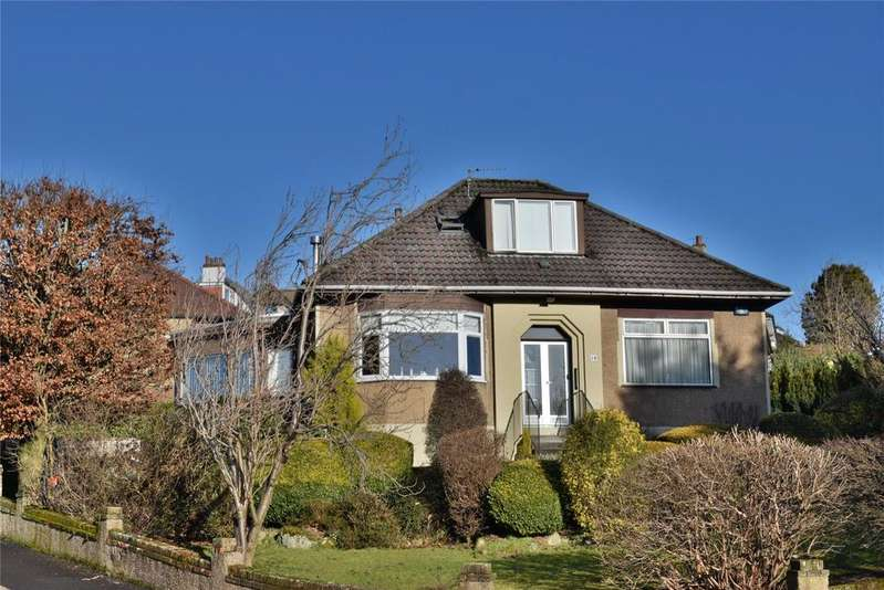 4 Bedrooms Detached Bungalow for sale in Hillneuk Drive, Bearsden, Glasgow