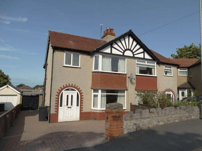 3 Bedrooms Semi Detached House for sale in St Catherines Drive, Colwyn Bay