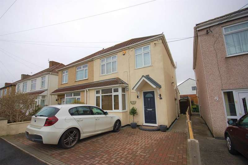 3 Bedrooms Semi Detached House for sale in Counterpool Road, Bristol, BS15 8DQ
