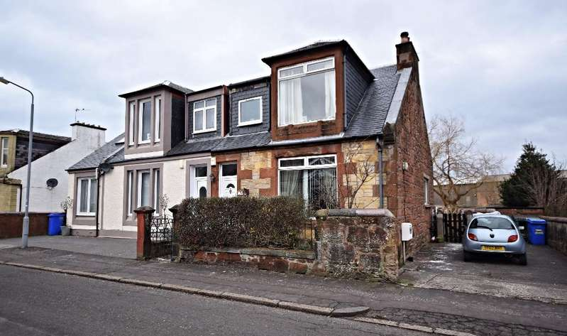 3 Bedrooms Semi Detached House for sale in Hawkhill Avenue, Ayr, South Ayrshire, KA8 9JP