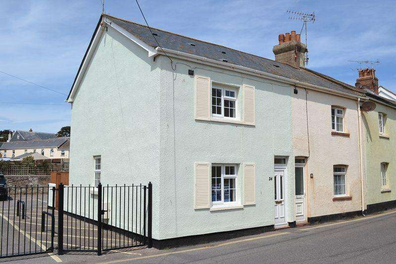 2 Bedrooms End Of Terrace House for rent in York Street, Sidmouth