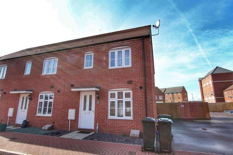 3 Bedrooms End Of Terrace House for sale in Lysaght Gardens, NEWPORT