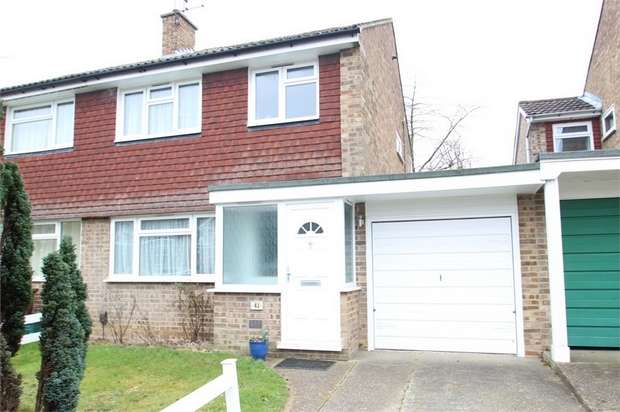 3 Bedrooms Semi Detached House for sale in Burden Way, GUILDFORD, Surrey