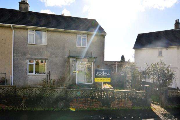3 Bedrooms Semi Detached House for sale in Manor Drive, Ivybridge, Devon