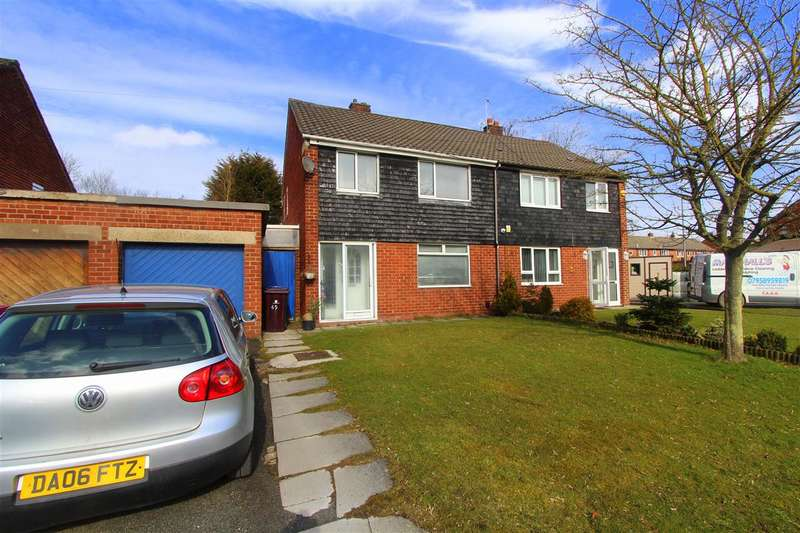3 Bedrooms Semi Detached House for sale in Homer Road, Knowsley, Knowsley Village, Liverpool