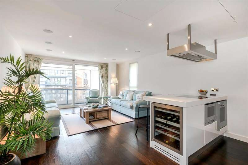2 Bedrooms Flat for sale in Bramah House, Grosvenor Waterside, London, SW1W