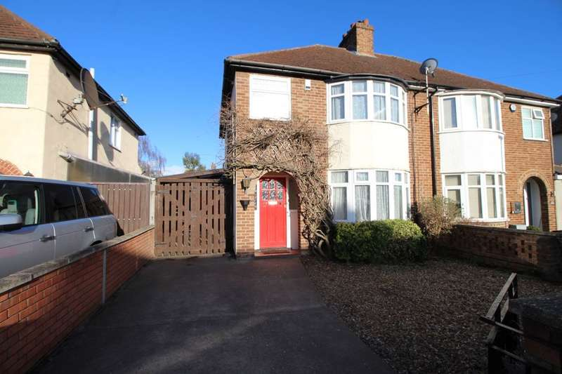 3 Bedrooms Semi Detached House for rent in Eaton Road, Kempston, Bedford, MK42