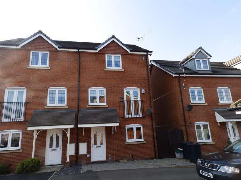 4 Bedrooms Semi Detached House for sale in Slackswood Close, Ellesmere Port, Cheshire, CH65 3AH