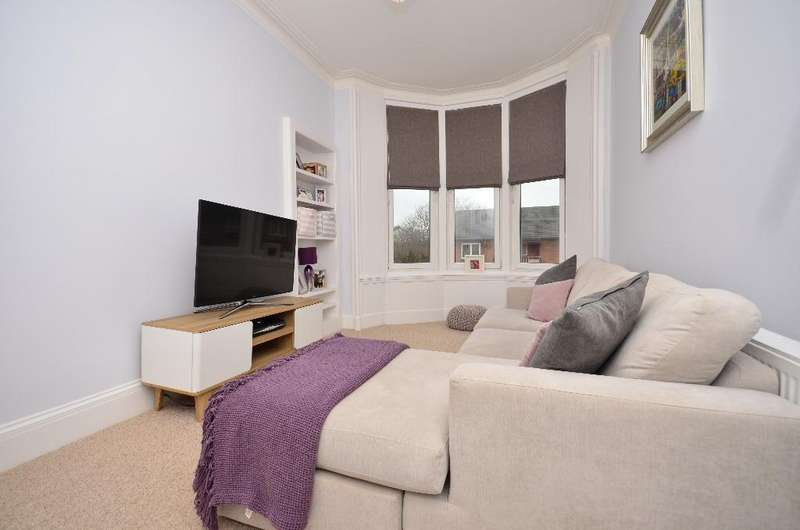 1 Bedroom Flat for sale in Clarkston Road, Flat 2/1, Cathcart, Glasgow, G44 3BS