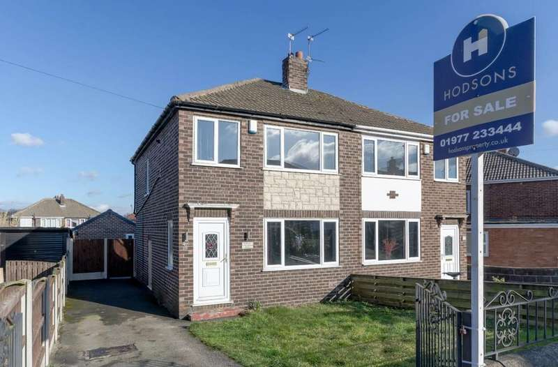 3 Bedrooms Semi Detached House for sale in Windermere Road, Castleford