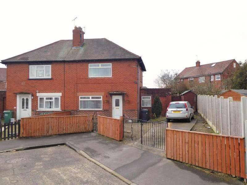 2 Bedrooms Semi Detached House for sale in The Walk, Farsley