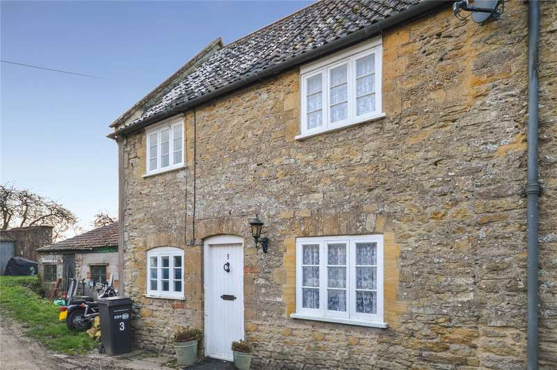 2 Bedrooms Semi Detached House for sale in Naish Barton, East Coker, Yeovil, Somerset, BA22