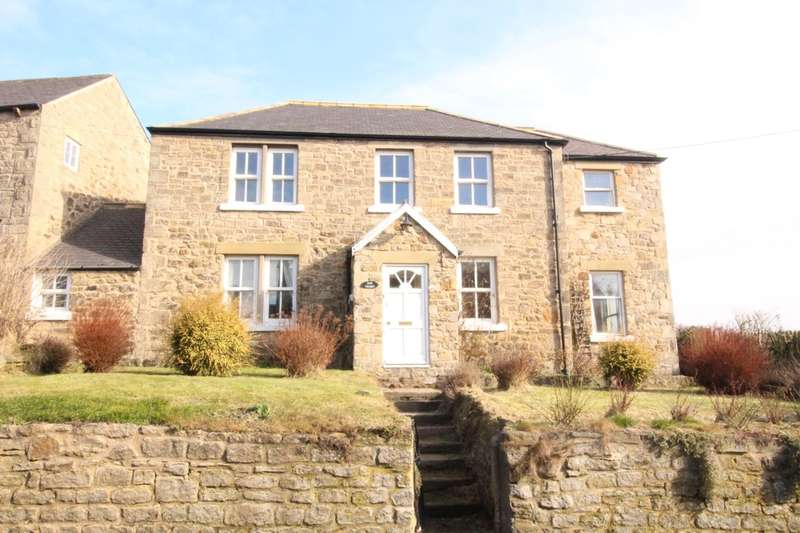 3 Bedrooms Detached House for sale in Ovington, Northumberland