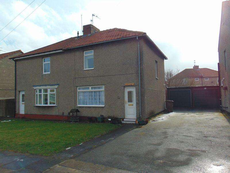 2 Bedrooms Semi Detached House for sale in Park Avenue, Newcastle Upon Tyne