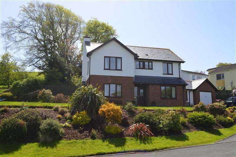 4 Bedrooms Detached House for sale in Lleifior, 7, Clos Y Ceiliog, Llandre, Aberystwyth, Ceredigion, SY24